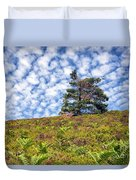 Lonely Tree Duvet Cover by Adrian Evans