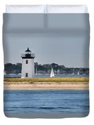 Long Point Light Duvet Cover by Bill  Wakeley