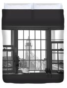 Looking Out Duvet Cover by Mike McGlothlen