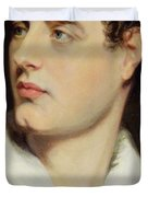 Lord Byron Duvet Cover by William Essex