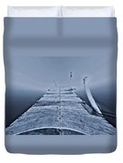 Lost At Sea Duvet Cover by Dan Sproul