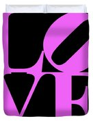Love 20130707 Violet Black Duvet Cover by Wingsdomain Art and Photography