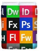 Love Adobe Duvet Cover by Oliver Johnston