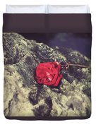 Love And Hard Times Duvet Cover by Laurie Search