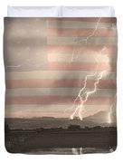 Love For Country Duvet Cover by James BO  Insogna