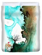 Love Has No Fear - Art By Sharon Cummings Duvet Cover by Sharon Cummings