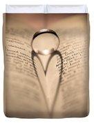 Love Duvet Cover by Jan Bickerton