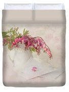 Love Letters Duvet Cover by Robin-lee Vieira