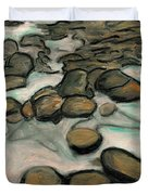 Low Tide Duvet Cover by Carla Sa Fernandes