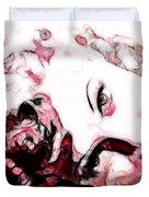 Lucille Ball Duvet Cover by D Walton