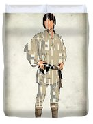 Luke Skywalker - Mark Hamill  Duvet Cover by Ayse Deniz