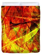 Lust 20130512 square Duvet Cover by Wingsdomain Art and Photography