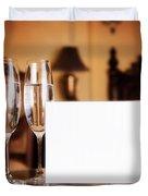 Luxury hotel room Duvet Cover by Michal Bednarek