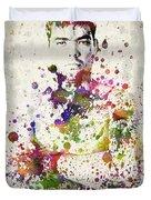Lyoto Machida Duvet Cover by Aged Pixel