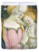 Madonna And Child Duvet Cover by Domenico Veneziano