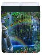 Magic Jungle Duvet Cover by Alixandra Mullins