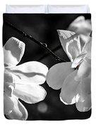 Magnolia Flowers Duvet Cover by Elena Elisseeva