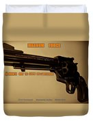 Magnum Force Custom Duvet Cover by Movie Poster Prints