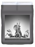 Maine Monument Duvet Cover by Mike McGlothlen