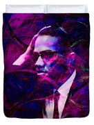 Malcolm X 20140105m88 Duvet Cover by Wingsdomain Art and Photography