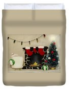 Mallow Christmas Duvet Cover by Heather Applegate