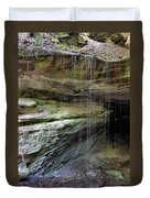 Mammoth Cave Entrance Duvet Cover by Kristin Elmquist