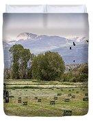 Mancos Colorado Landscape Duvet Cover by Janice Rae Pariza