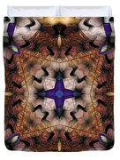 Mandala 17 Duvet Cover by Terry Reynoldson