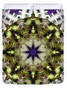 Mandala 21 Duvet Cover by Terry Reynoldson