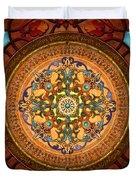 Mandala Arabia Sp Duvet Cover by Bedros Awak