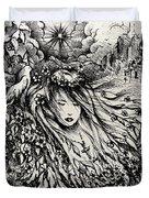 Mandee's Dream Duvet Cover by Rachel Christine Nowicki