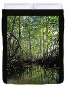 mangrove forest in Costa Rica 2 Duvet Cover by Rudi Prott