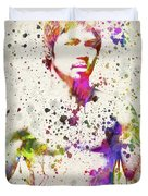 Manny Pacquiao Duvet Cover by Aged Pixel