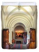 Mansion Hallway III Duvet Cover by Adrian Evans