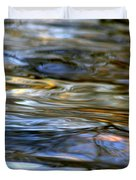 Marbeled Movement Duvet Cover by Neal  Eslinger