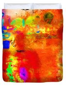 Marina Night Duvet Cover by Chuck Staley