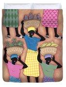 Market Day Duvet Cover by Sarah Porter