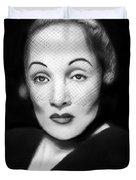 Marlene Dietrich Duvet Cover by Peter Piatt