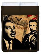 Martin Luther King Jr 2 Duvet Cover by Andrew Fare