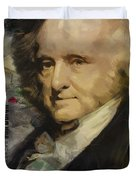 Martin Van Buren Duvet Cover by Corporate Art Task Force