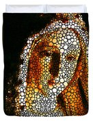 Mary - Holy Mother By Sharon Cummings Duvet Cover by Sharon Cummings