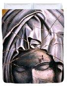 Mary Super Petram - Study No. 1 Duvet Cover by Steve Bogdanoff