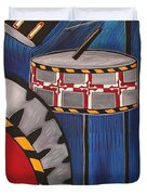 Maryland Drums Duvet Cover by Kate Fortin