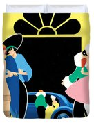 Masked Ball Duvet Cover by Brian James