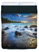 Maui Dawn Duvet Cover by Inge Johnsson