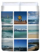 Maui North Shore Hawaii Duvet Cover by Sharon Mau