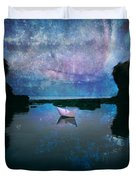 Maybe Stars Duvet Cover by Stylianos Kleanthous