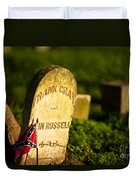 Mcgavock Confederate Cemetery Duvet Cover by Brian Jannsen