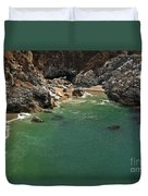 Mcway Into The Bay Duvet Cover by Adam Jewell