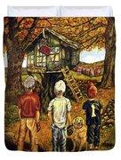 Meadow Haven Duvet Cover by Linda Simon